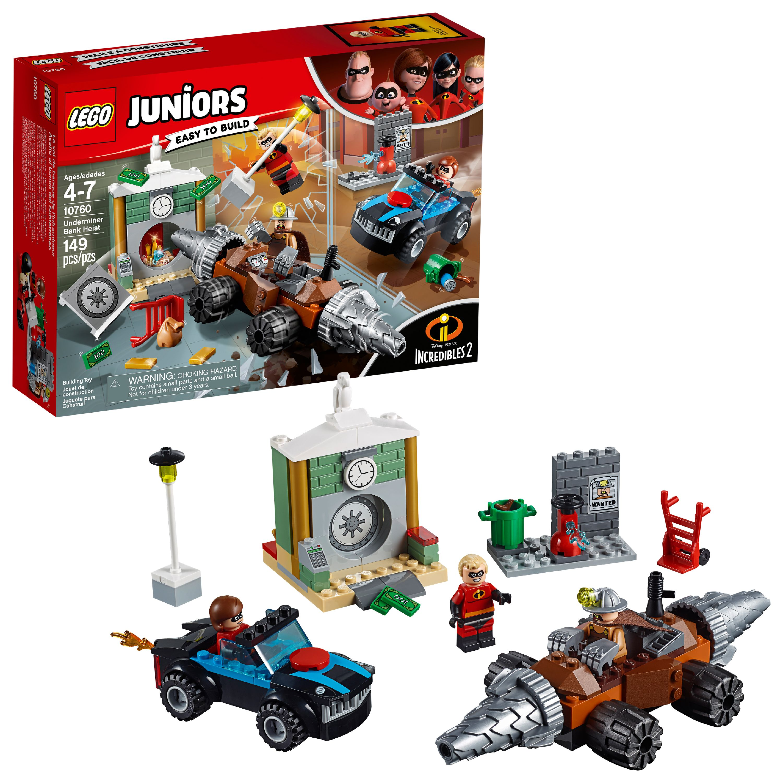 LEGO Juniors Incredibles 2 Underminer Bank Heist 10760 (149 Pieces)