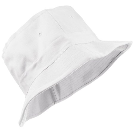 - Enimay Unisex Printed Colored Bucket Hat Patterned Summer Sun Caps Solid White Size S | M