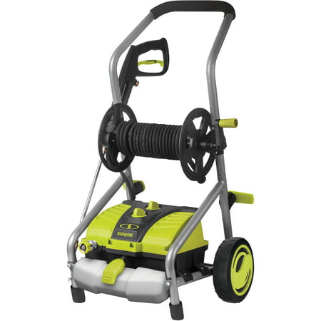 Sun Joe SPX4001 Electric Pressure Washer | 2030 PSI | 1.76 GPM | 14.5-Amp | Pressure Select | Hose Reel ()
