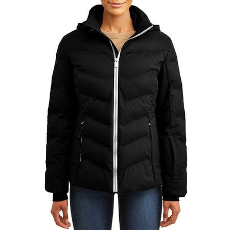 Time and Tru Women's Ski Jacket (Warmest Ski Jacket Women)