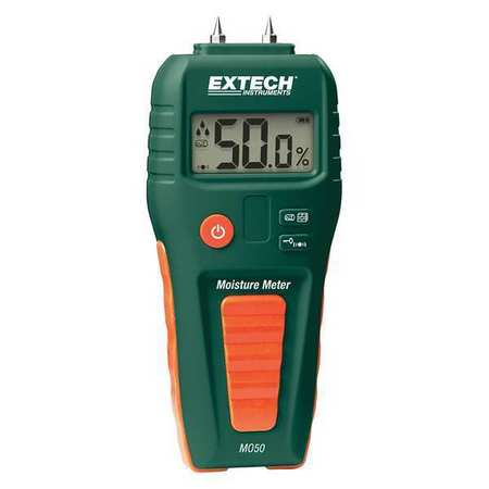Moisture Meter,LCD,9V EXTECH MO50 by FLIR
