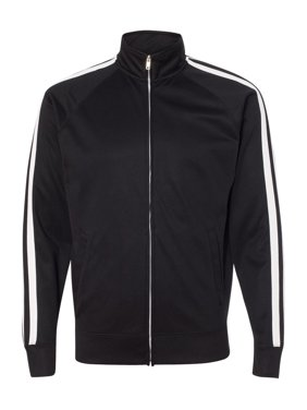 Independent Trading Co. Fleece Unisex Poly-Tech Full-Zip Track Jacket