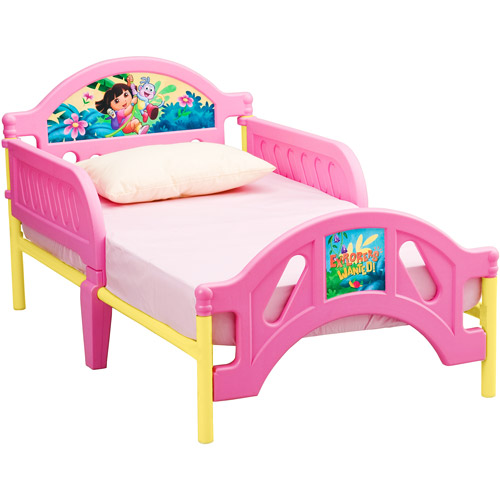Delta Children Nickelodeon Dora the Explorer 10th Anniversary Convertible Toddler Bed