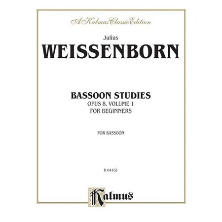 Bassoon Studies for Beginners, Opus 8: Bassoon Studies