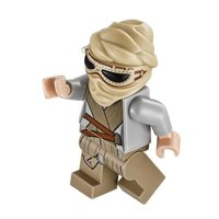 LEGO Minifigure - Star Wars - REY with Mask
