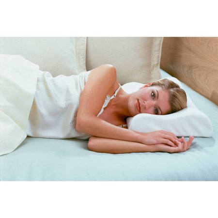 broyhill align memory foam bed pillow with neck support