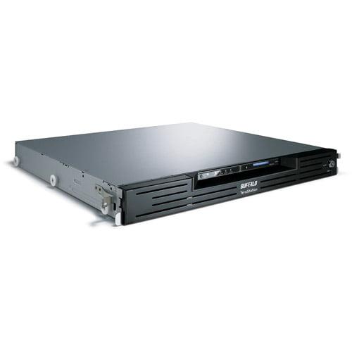 BUFFALO TeraStation Pro Rackmount - NAS server - 4 bays - 8 TB - rack-mountable - SATA 3Gb/s - HDD 2 TB x 4 - RAID 0, 1, 5, 6, 10, JBOD - Gigabit Ethernet - 1U