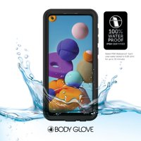 Body Glove Black Tidal Waterproof Phone Case for Samsung Galaxy A21