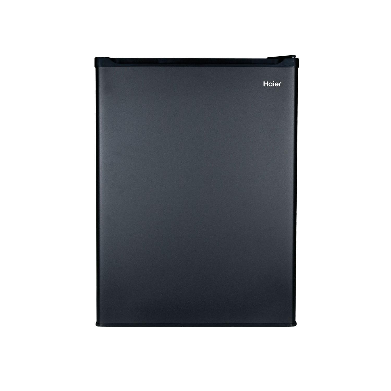 Haier 2.7 cu ft Mini Fridge/Freezer Combo, Black