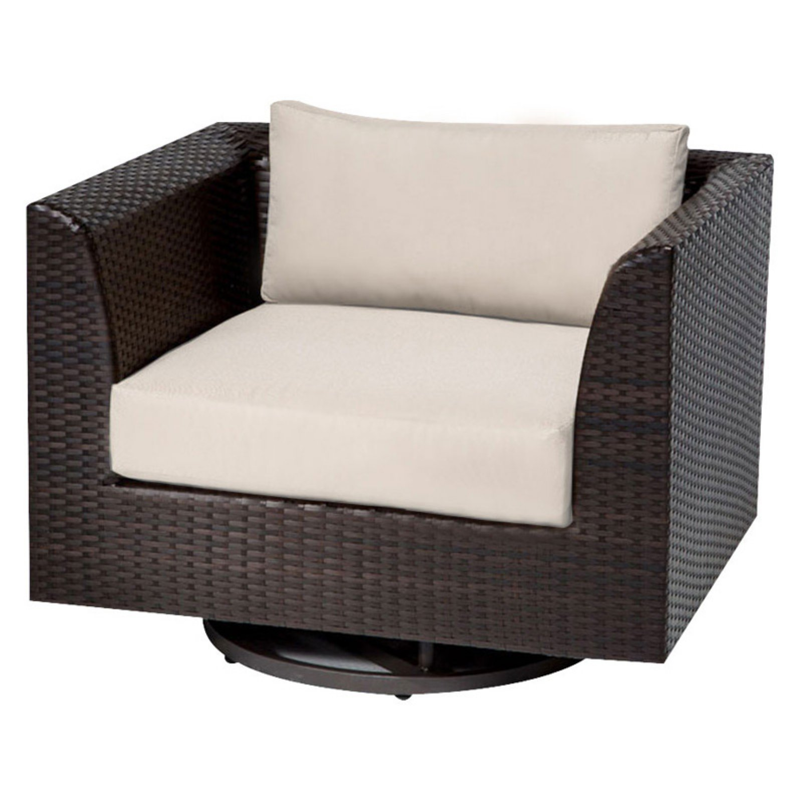TK Classics Barbados Swivel Outdoor Dining Chair - Set of 2 Cushion Covers