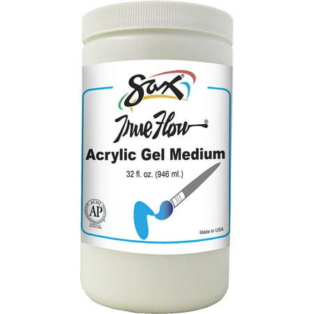 Sax True Flow Acrylic Gel Medium, Quart