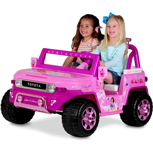 Disney Princess Toyota FJ Cruiser 12-Volt Battery-Powered Ride-On