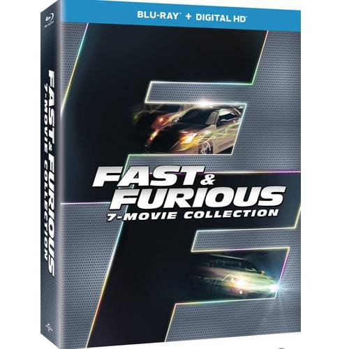 Fast & Furious 7-Movie Collection (Blu-ray + Digital HD) (With INSTAWATCH) by Universal