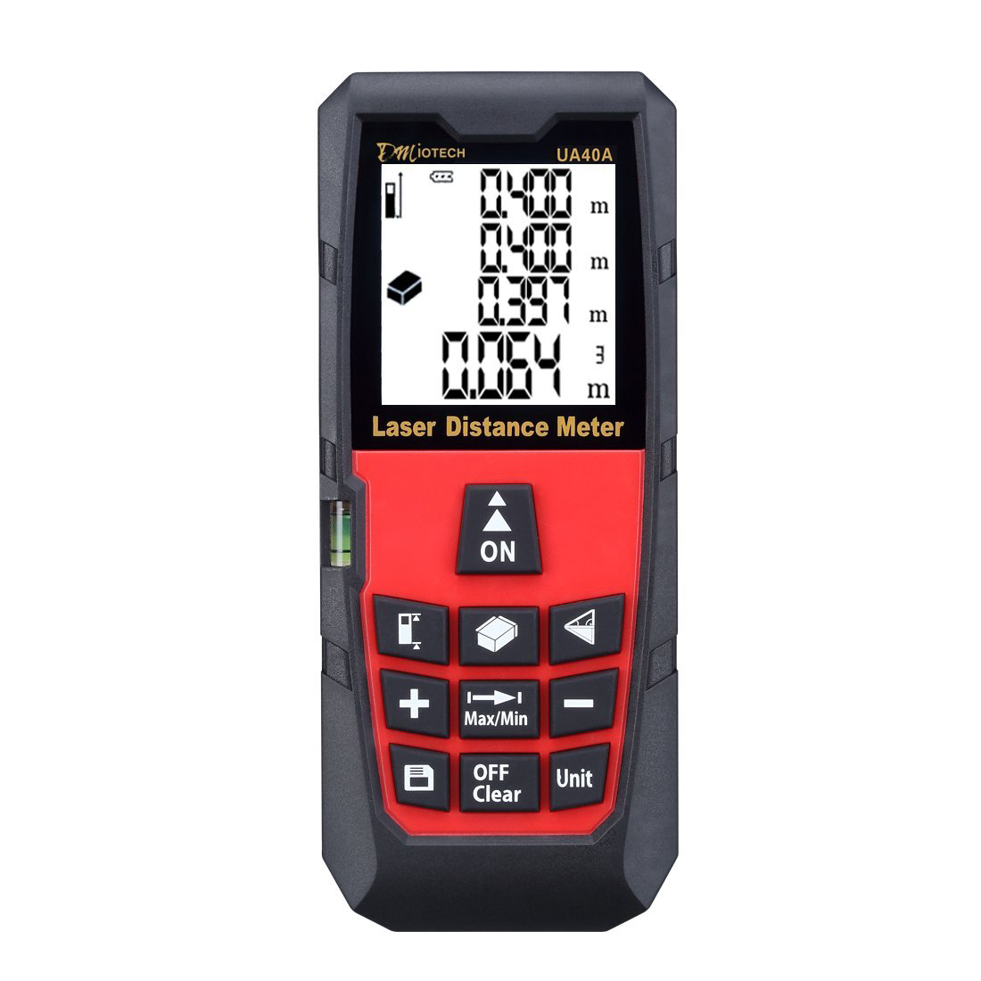 40m/131ft Mini Digital Distance Meter Rangefinder Measure Tape Diastimeter