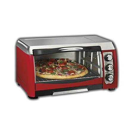 Hamilton Beach 31335 Ensemble 6 Slice Toaster Oven Red
