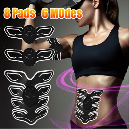 ABS Stimulator Abdominal Muscle Trainer Body Training Pad Home Office Exercise Shape Fitness Ab Core Toners