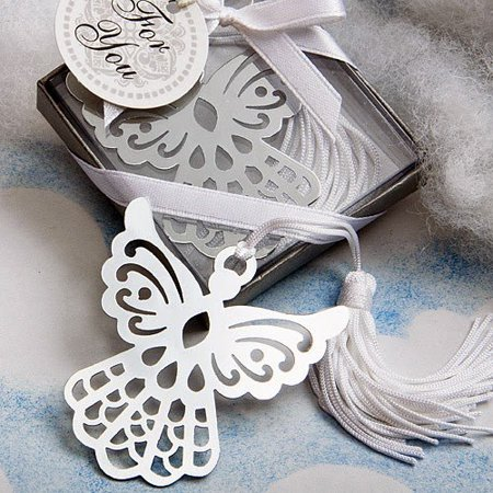 50 Book Lovers Collection Angel Bookmark Favors, From Fashioncraft's exclusive Book Lovers Collection, each angel favor measures 5