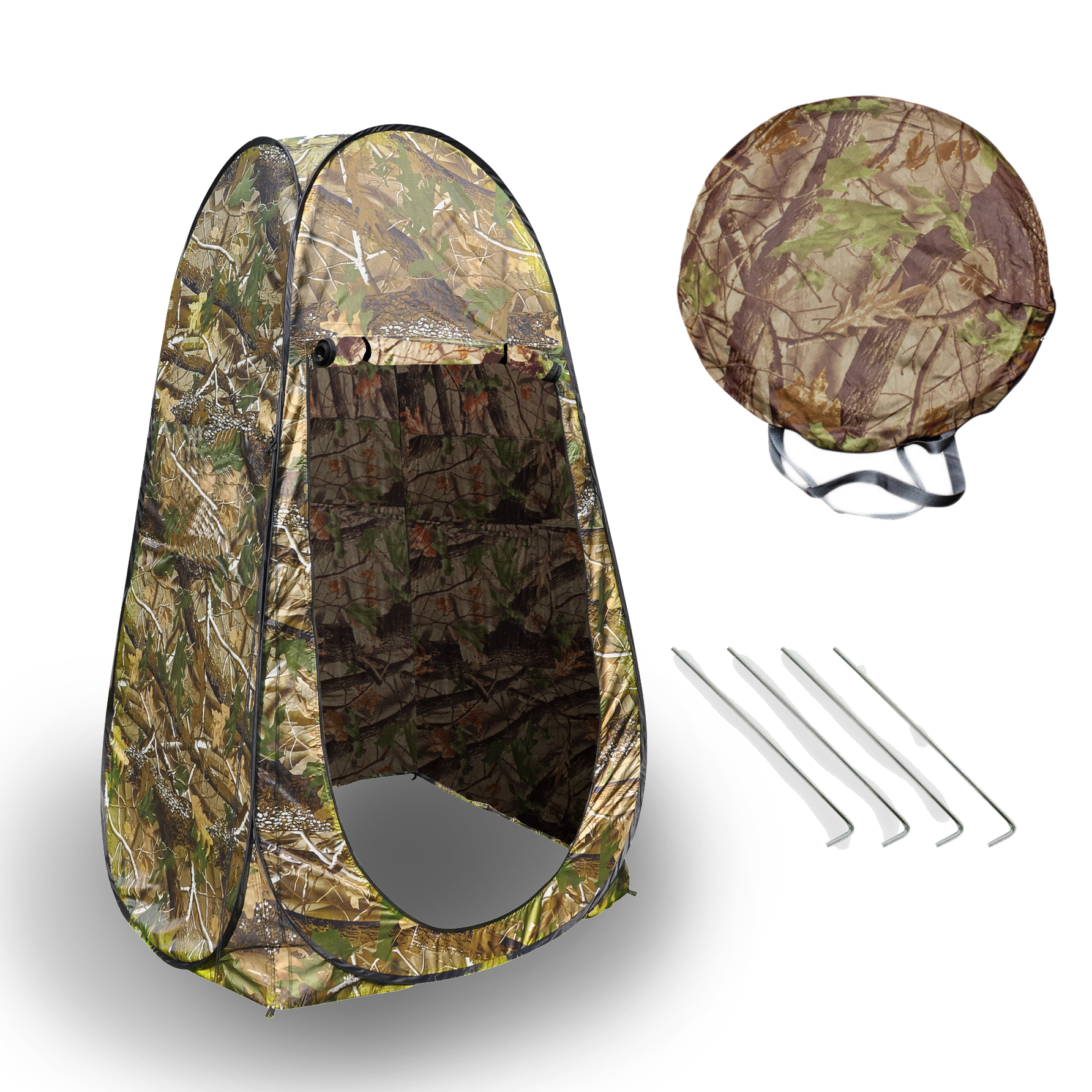 Camouflage Changing Tent C&ing Shower Toilet Pop Up Hunting Privacy Beach Park  sc 1 st  Walmart & Camouflage Changing Tent Camping Shower Toilet Pop Up Hunting ...