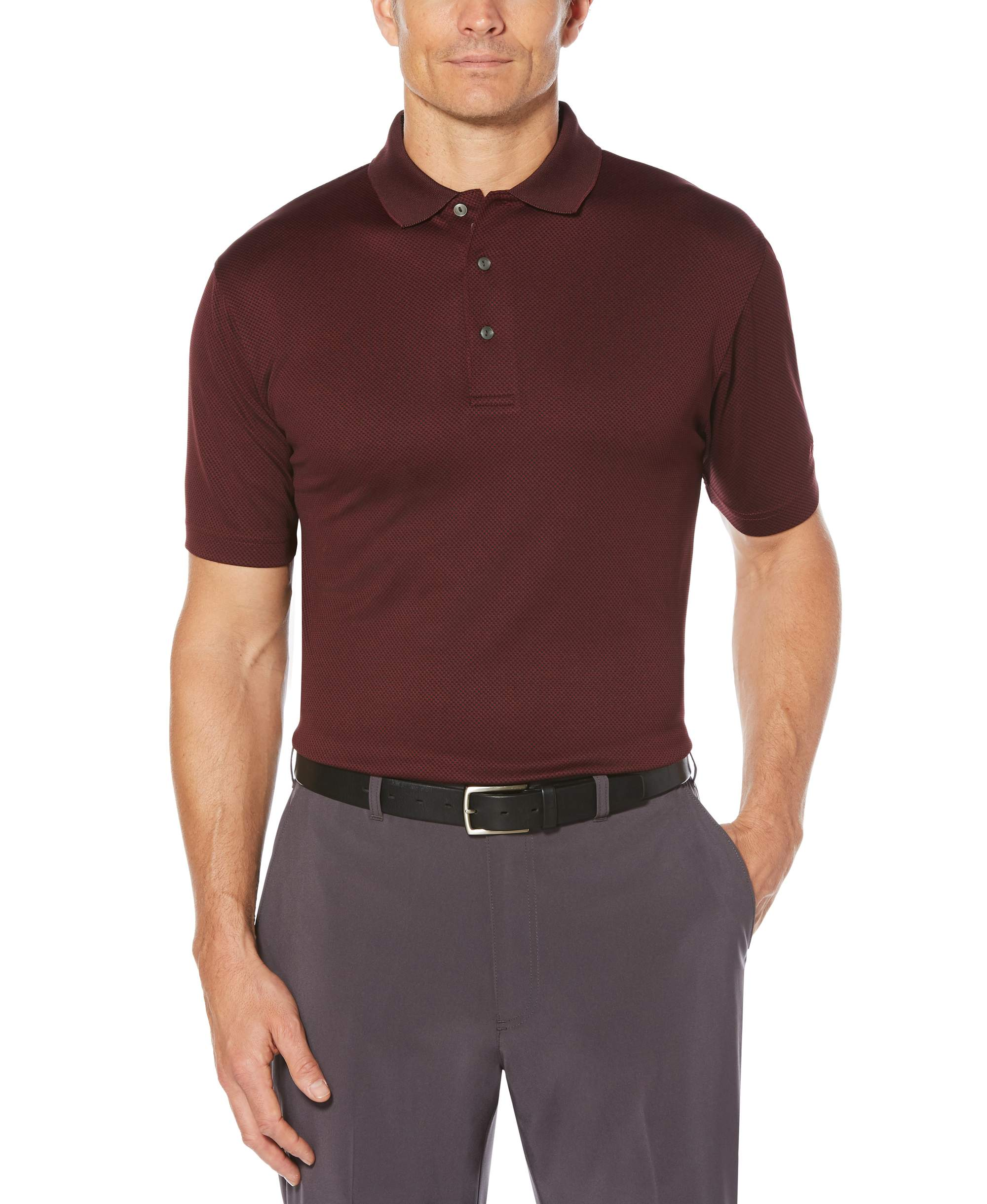 Big Men's Performance Colorblock Short Sleeve Polo