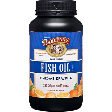 Barlean's Fish Oil Soft gels 250 ct - image 2 of 2