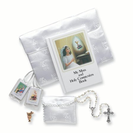 5 Pc. Girls First Communion Religious Baptism/christening/communion Gifts For Women For Her