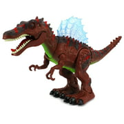 Dinosaur Century Spinosaurus Battery Operated Toy Dinosaur Figure w  Realistic Movement, Lights and Sounds (Colors May... by Velocity Toys
