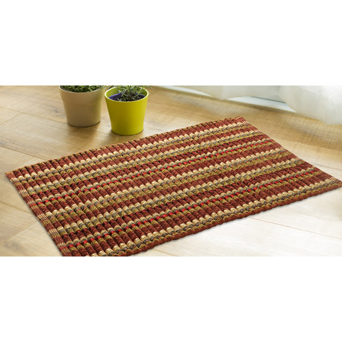 Better Homes and Gardens Chenille Silk Ribbed Rug 110 x 16