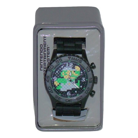Nintendo Luigi 8 Bit Men's Casual Watch