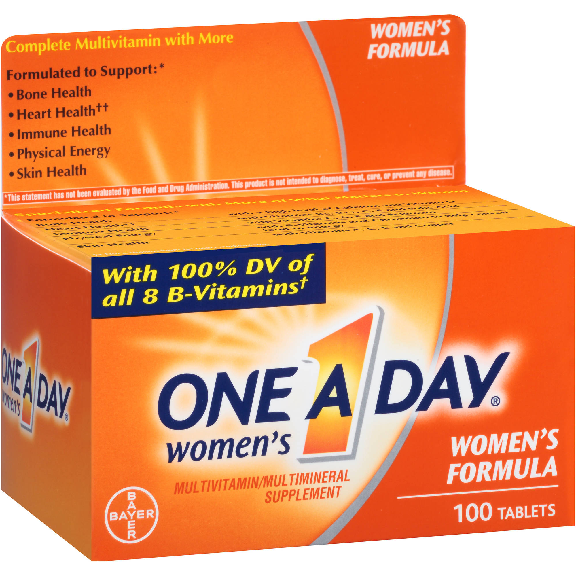 One A Day Women's Multivitamin/Multimineral Supplement Tablets, 100 count
