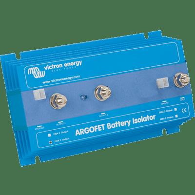 2 Battery Isolator (Argo FET Battery Isolator, 200A, 2 Batt. )