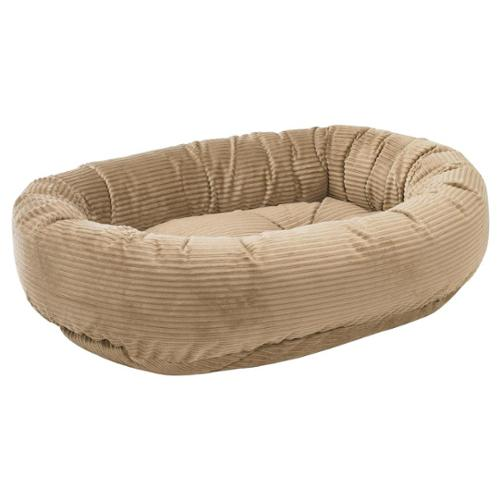 Donut Bed in Praline Fabric (SML)