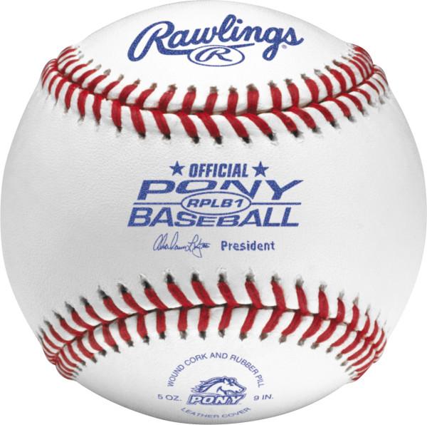 Rawlings RPLB1 Pony League Competition Grade Baseballs (Dozen) by Rawlings