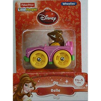 Fisher Price little people wheelies disney belle