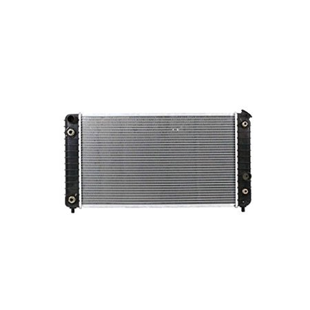 Radiator - Pacific Best Inc Fit/For 1825 95-03 Chevrolet S10 S15 Pickup Blazer Jimmy V6 4.3 Manual Transmission Plastic Tank Aluminum Core