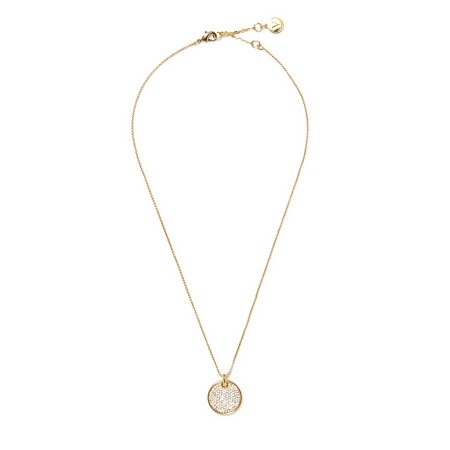 Crystal Lobster Clasp Pendant Necklace Gold Gp Pendant Necklace