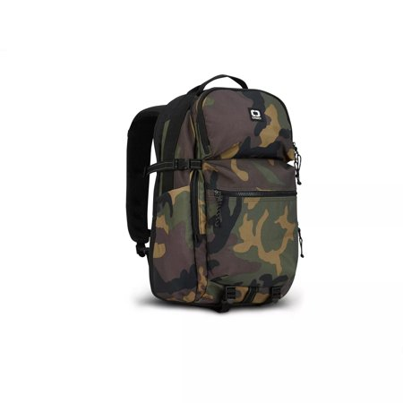 Ogio Alpha Recon Durable Adjustable Zip Closure Strap Polyester 320 18.5u0022 Backpack, Camo