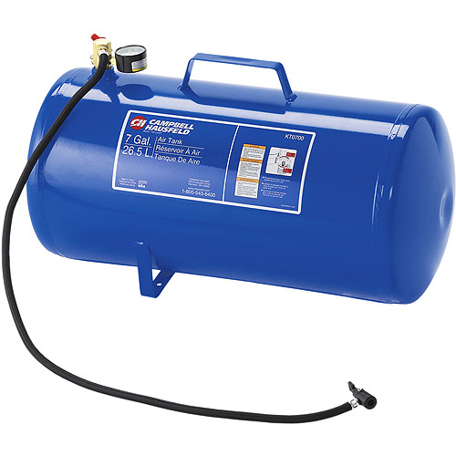 Compressed Air Car >> Campbell Hausfeld 7-Gallon Carry Tank - Walmart.com