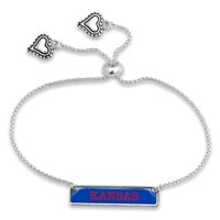 Kansas Jayhawks Women's Nameplate Bracelet - No Size
