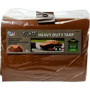 6' x 8' Heavy Duty Tan/Brown Tarp