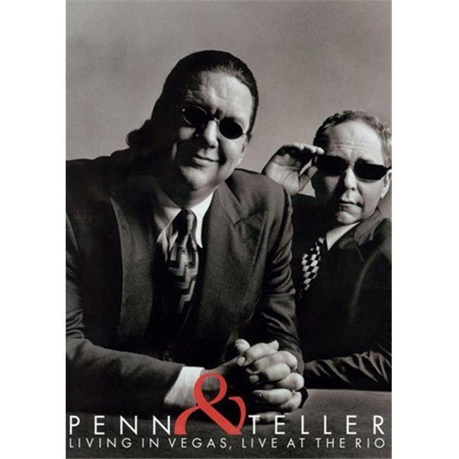 Penn & Teller Movie Poster - 11 x 17 in. - image 1 of 1