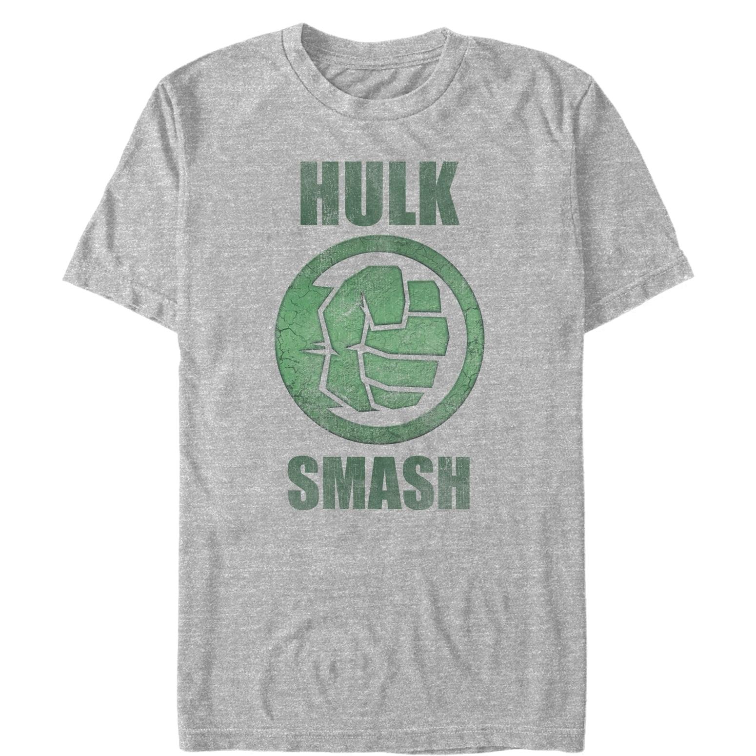 Marvel Men's Hulk Smash T-Shirt