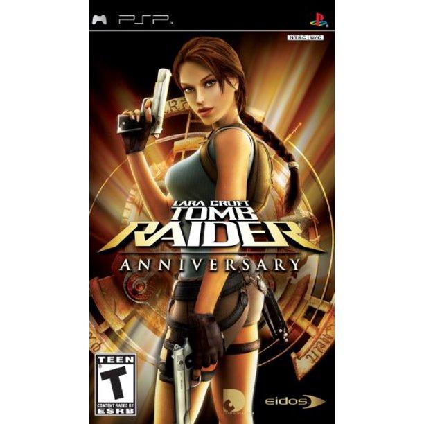 Tomb Raider Anniversary Sony Psp Action Game Walmart Com