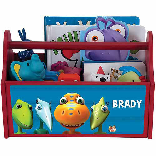 Personalized Dinosaur Train Buddy and Siblings Toy Caddy