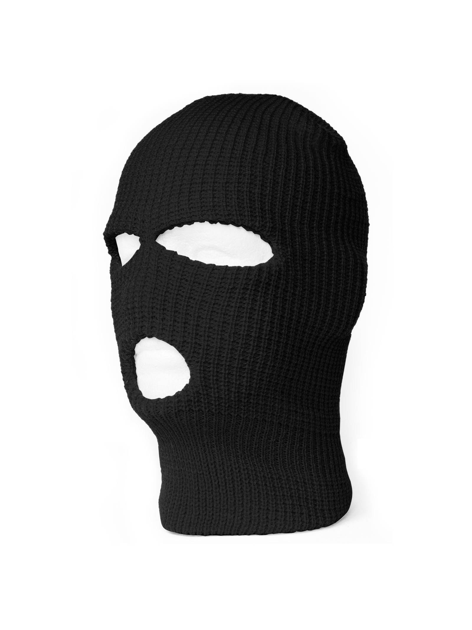 3 Hole Winter Ski Mask Balaclava - Black  cbb4375fb