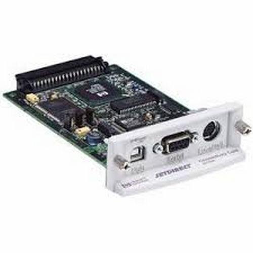 HPE Refurbish USB/Serial/Local talk ports EIO JetDirect Connectivity Card (HPEJ4135A) - Seller Refurb