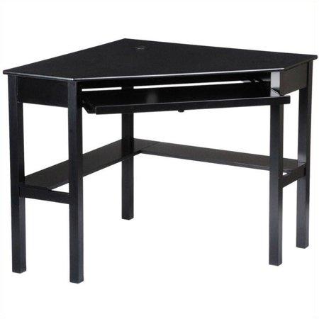 southern enterprises black corner computer desk