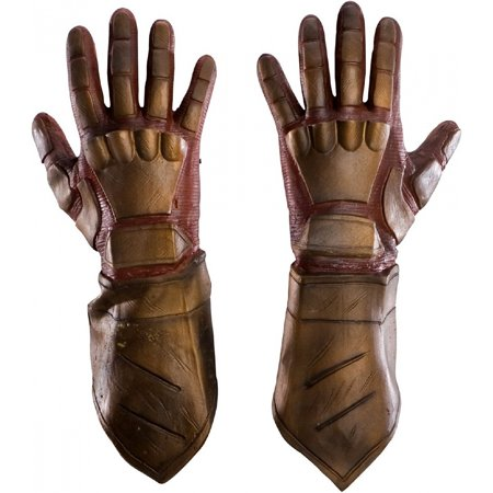 Nite Owl Deluxe Latex Gloves Adult Costume - Owl Costume Adults