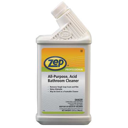 ZEP PROFESSIONAL 1041399 Bathroom Cleaner,Spray Bottle,Green (Zen Spray)