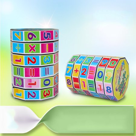 Children's Educational Toys Mathematics Numbers Magic Cube Puzzle Game Gift for (Educational Children's Toys)