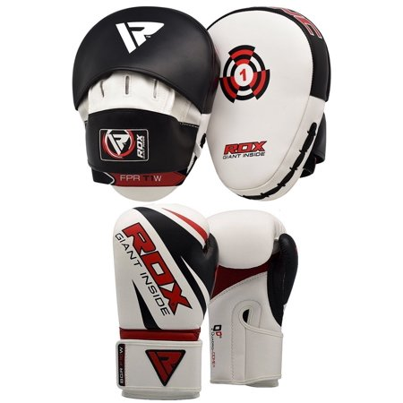 - RDX Punch Mitts Boxing Punching Pads MMA Training Gloves Focus Hook and Jab